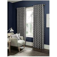 Studio G Castello Lined Eyelet Curtains 90X72