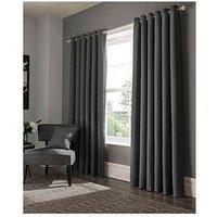 Studio G Elba Lined Eyelet Curtain 46X54