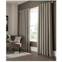 Product photograph showing Studio G Elba Lined Eyelet Curtains