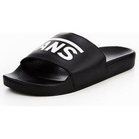Vans MN Slide-On Slider, Black, Size 12, Men