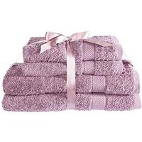 Product photograph showing Downland Luxury 600gsm 4-piece Towel Bale