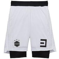 Boys, adidas Youth Star Wars 2in1 Short, White, Size 5-6 Years