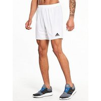 adidas Parma 16 Training Shorts, White, Size M, Men
