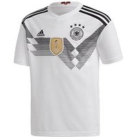 Boys, adidas Adidas Junior Home Germany 2018 World Cup Replica Shirt, Black/White, Size 11-12 Years