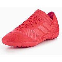 adidas Adidas Junior Nemeziz 17.3 Astro Turf Boot, Coral, Size 5