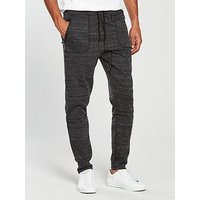 V by Very Tech Jog Pants, Charcoal, Size Xs, Men