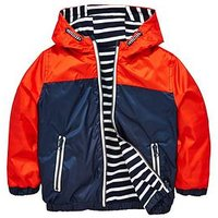 Mini V by Very Boys Reversible Jacket, Red/Navy, Size Age: 18-24 Months