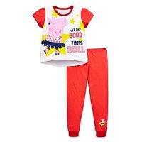 Peppa Pig Girls Short Sleeve Pyjamas, Multi, Size Age: 12-18 Months, Women