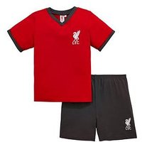 Boys, Liverpool FC Liverpool Shorty Pyjamas Set, Multi, Size Age: 7-8 Years
