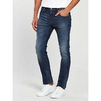 V by Very Slim Fit Jean - Dark Vintage, Dark Vintage, Size 36, Inside Leg Long, Men