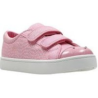 Clarks Pattie Lola Shoe, Pink, Size 11.5 Younger