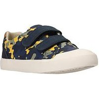 Clarks Comic Air Shoe, Navy Camo, Size 12.5 Younger