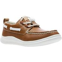 Clarks Cloud Swing Shoe, Tan, Size 7.5 Younger