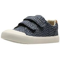 Clarks Comic Cool Shoe, Navy, Size 7.5 Younger