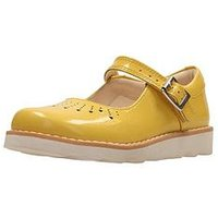 Clarks Crown Jump, Yellow Patent, Size 7 Younger
