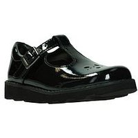 Clarks Crown Wish, Black Patent, Size 11.5 Younger