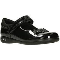 Clarks Prime Step, Black Patent, Size 10 Younger
