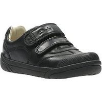 Clarks Lilfolkzoo Infant, Black, Size 12 Younger