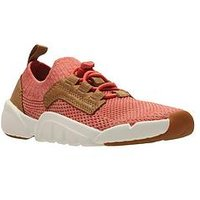 Clarks Tri Jump Shoe, Coral, Size 8 Younger