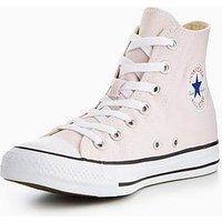 Converse Chuck Taylor All Star Seasonal Colors Hi, Light Pink, Size 3, Women