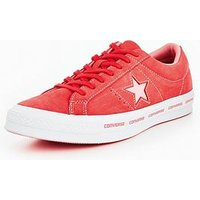 Converse One Star Ox Wordmark - Bright Pink , Bright Pink, Size 12, Women