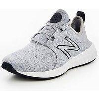 New Balance Cruz V1 Fresh Foam - Hoodie Pack, Grey/White, Size 8, Women