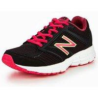 New Balance W460 V2, Black/Pink, Size 3, Women