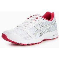 Asics Patriot 9 - White , White/Silver/Pink, Size 6, Women