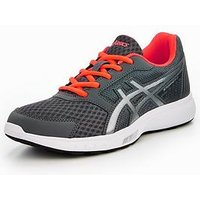 Asics Stormer 2, Grey/Silver, Size 5, Women