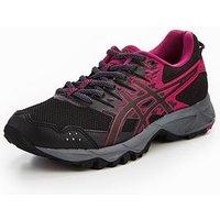 Asics Gel Sonoma 3, Black/Pink, Size 6, Women
