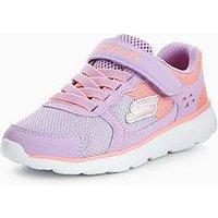 Skechers Skechers Go Run 400 Sparkle Sprinters Trainer, Pink/Lilac, Size 3 Older