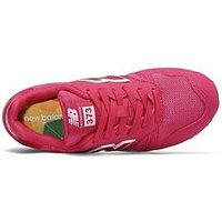 New Balance 373 Lace Childrens Trainer, Bright Pink, Size 10