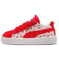 Puma Puma Suede Classic Hello Kitty Infant Trainer, Pink, Size 5