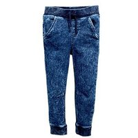 Mini V by Very Toddler Boys Knitted Jog Jeans - Blue, Indigo, Size Age: 5-6 Years