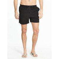V by Very Swim Shorts - Black, Black, Size Xl, Men