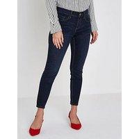 RI Petite Amelie Jeans- Dark Blue, Blue, Size 12, Women