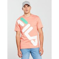 Fila Black Line Kalani Graphic T-Shirt, Peach, Size Xs, Men