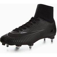 Nike Nike Mens Mercurial Victory Vi Dynamic Fit Soft Ground Football Boot, Black, Size 7, Men