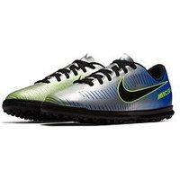 Nike Nike Junior Mercurial X Vortex Iii Astro Turf Football Boot, Blue, Size 5