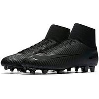Nike Nike Mens Mercurial Victory Vi Dynamic Fit Firm-ground Football Boot, Black, Size 6, Men