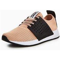 Tommy Jeans Knit Sneaker, Mahogany, Size 5, Women