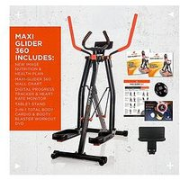 New Image Maxi Glider 360, 10-In-1 Cross Trainer With Heart Rate Monitor