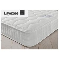 Product photograph showing Layezee Addison 800 Pocket Memory Mattress - Mattress Only