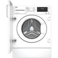 Beko Wdiy854310F 8Kg Wash, 5Kg Dry, 1400 Spin Integrated Washer Dryer - White