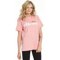 Ellesse Albany T-Shirt - Pink , Pink, Size 12, Women