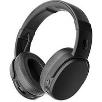 Skullcandy Crusher Wireless Over-Ear Bluetooth Headphones With Built-In Microphone - Black