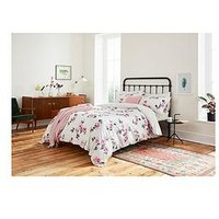 Joules Dhalia Floral 100% Cotton Percale 180 Thread Count Duvet Cover