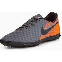 Nike Nike Mens Magistax Ola Ii Astro Turf Football Boot, Grey, Size 12, Men