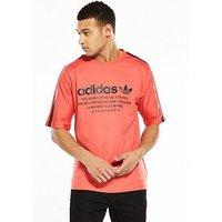 adidas Originals NMD T-Shirt, Orange, Size Xs, Men