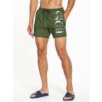Hugo Boss Octopus Swim Shorts, Khaki, Size Xl, Men